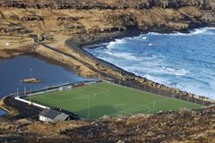 Eidi Stadium (Faroe Islands) amazing football stadium
