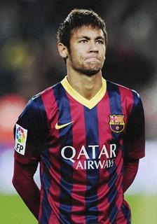 Neymar Jr popular social media footballer
