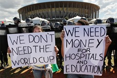 Povertys reason why Brazil shouldn't host FIFA 2022