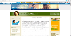 Mirian Leitão Most Prominent Blogs in Brazil In 2014