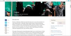 Hamas Popular Blogs Run by Militant Organizations