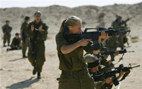 Israeli women in army