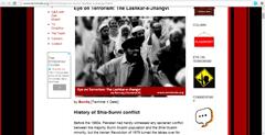 Lashkar-e-Jhangvi Popular Blogs Run by Militant Organizations