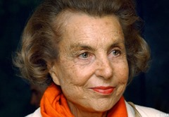 Liliane Bettencourt Richest Widows of the World in 2014