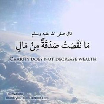 charity and Islam Money MAking