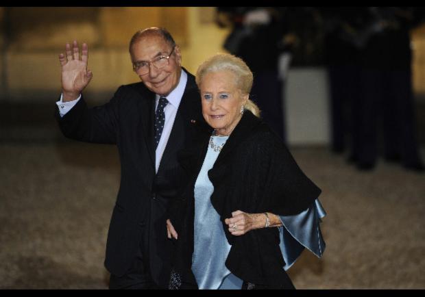 3 Serge Dassault and family