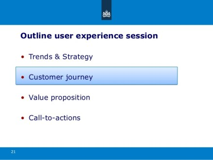 21. User experience