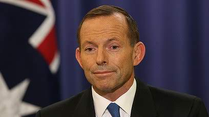 tony abbott -rich leader