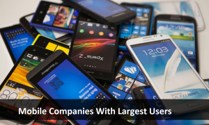 Mobile Companies With Largest Users in 2016
