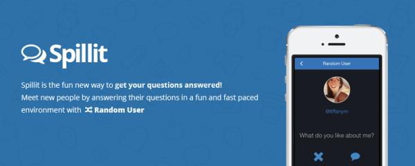 Spillit - Best Ask.fm alternative