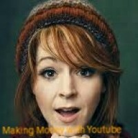 Lindsey making money with youtube