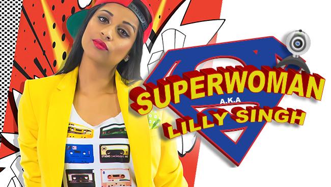 superwoman aka lilly singh
