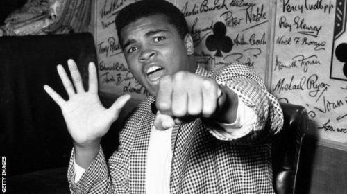 Muhammad Ali hero