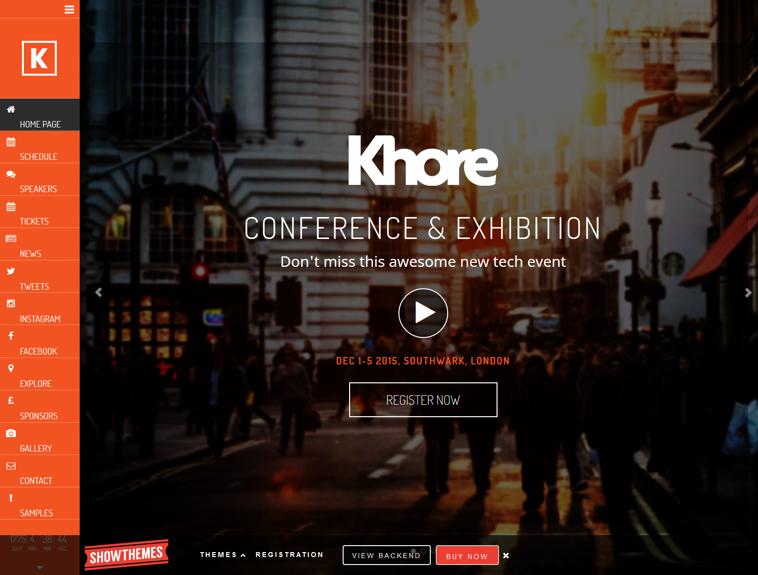 Khore wordpress themes
