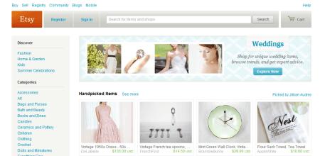 etsy online handicraft