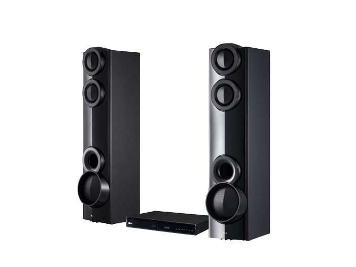 LG DVD Home Theater System - Bodyguard LHD675BG