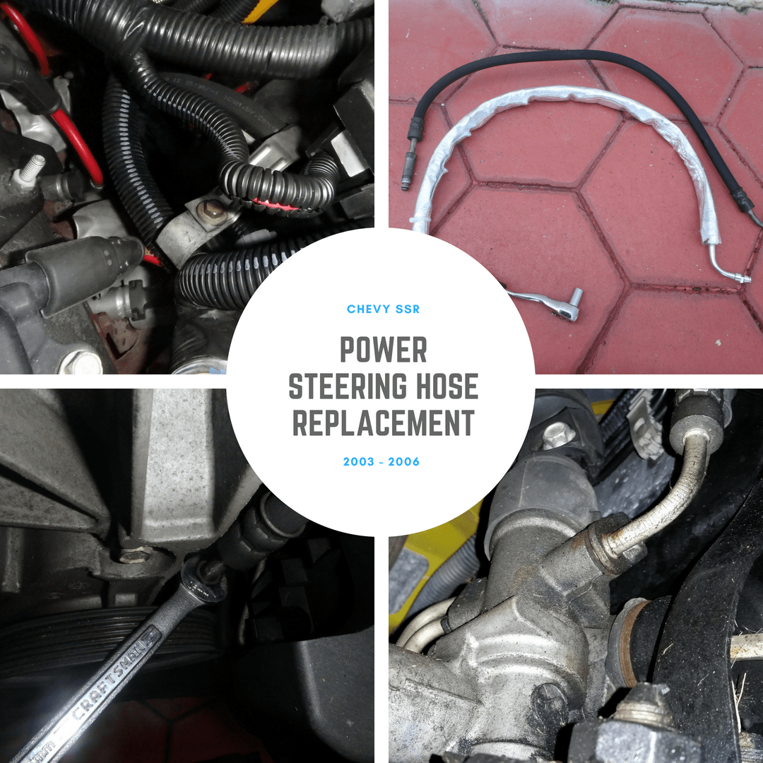 Chevy SSR: Power Steering Hose Replacement
