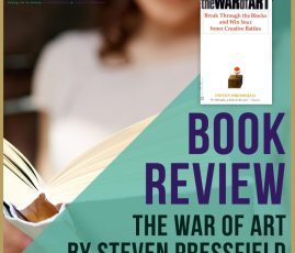 Book Review: The War Of Art By Steven Pressfield