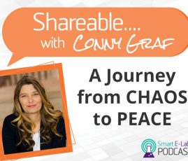 PODCAST: Shareable EP 10 - A Journey From Chaos to Peace With Conny Graf