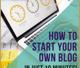 How to Start Your Own Blog In 10 Minutes. How to Start Your Own Blog in Just 10 Minutes How to start own blog, how to create own website or blog, how to create money making blog fast, make money with a blog, tutorial on blog, blogging for beginners, entrepreneurial tips, how to start own business, how to be a business owner, freedom lifestyle