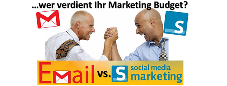 Marketing: E-Mail vs. Social – wer gewinnt?