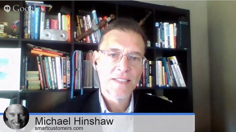 Smart customers, stupid companies. Smarter Service Talk mit Michael Hinshaw.