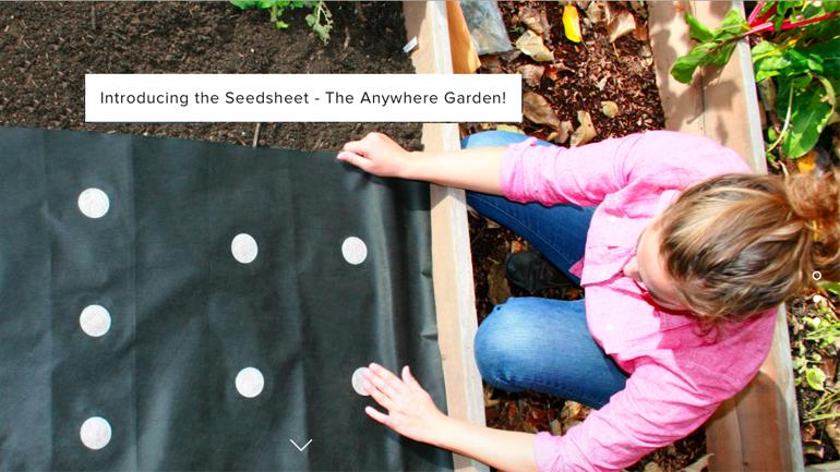 Seedsheet: Werde zum eigenen Gärtner