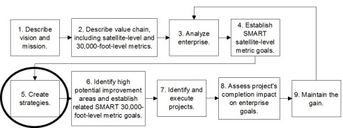 strategic planning and execution is step 5 in the 9-step IEE system