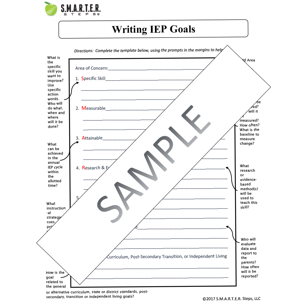 Annotated Iep Template