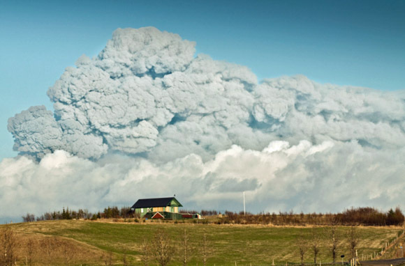 Worst Volcano - Iceland's Eyjafjallajokull