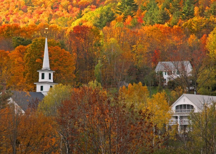 Vermont Says Goodnight Irene and Hello to Leaf Peepers