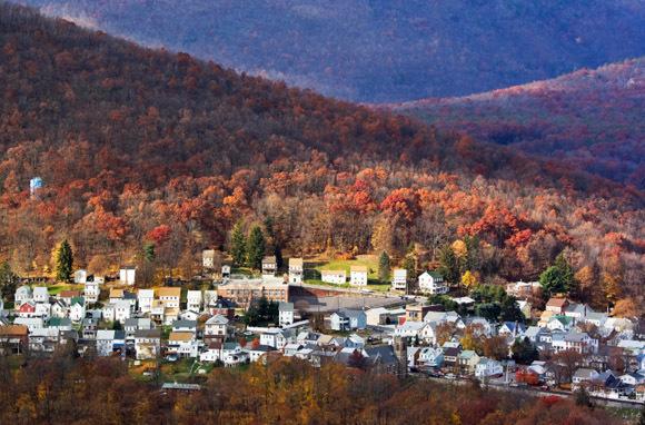 Towns in Autumn