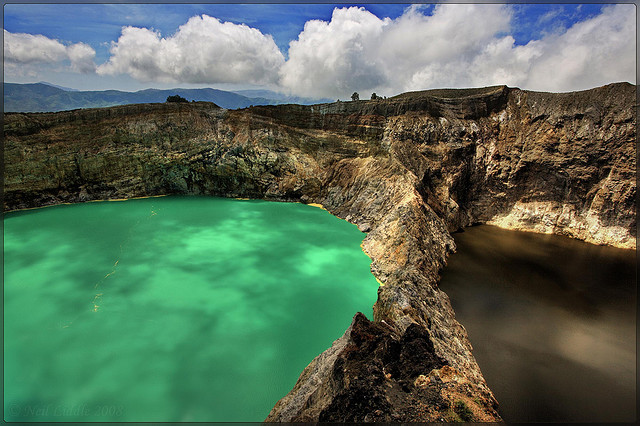 Daily Daydream: Kelimutu Volcano and Lakes, Indonesia