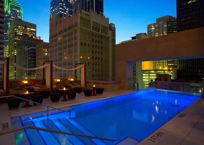 Daily Daydream: The Pool at The Joule, Dallas, Texas