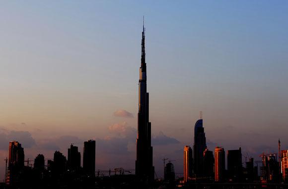 World's Tallest Building: Burj Khalifa, United Arab Emirates