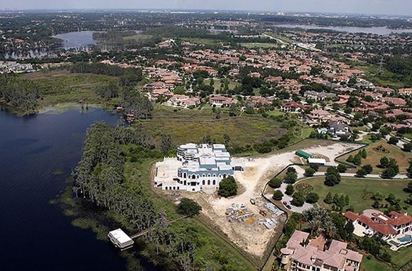 Lake Butler Mansion ('Versailles'), Windermere, Florida