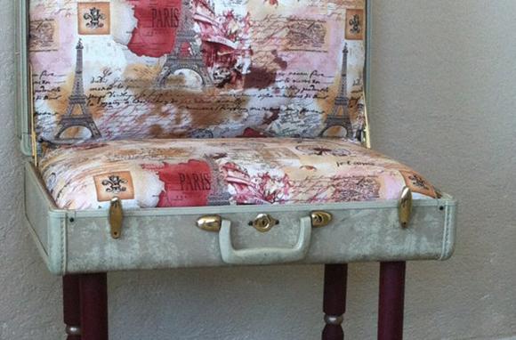 Vintage Suitcase Chair