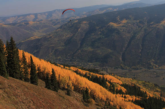 Tandem Paraglider Flight: Aspen, Colorado