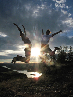 Jumping For The Sun