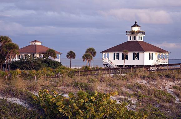 Port Boca Grande Lighthouse, Gasparilla Island, Florida
