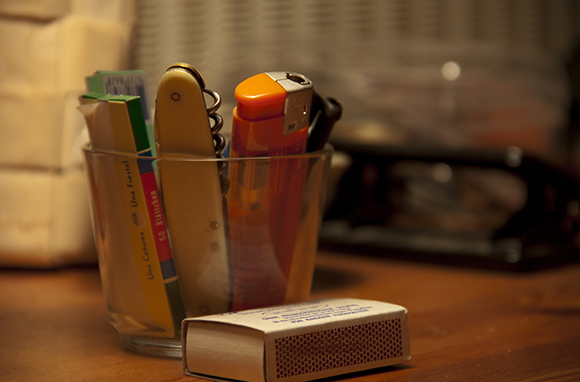 Lighters, Matches, And Flammable Items