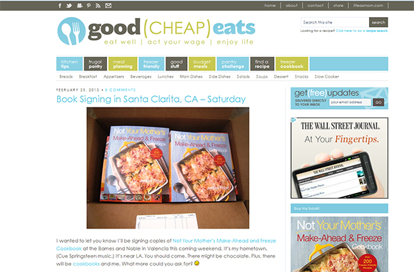 Follow Food Blogs
