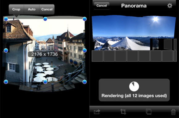 Use The Panoramic Feature