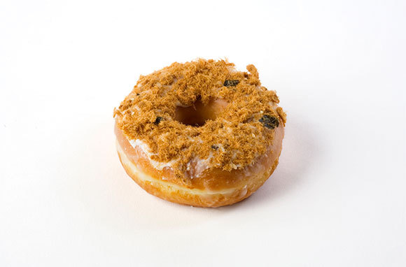 Dry Pork and Seaweed Donut, Dunkin' Donuts, China