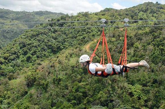La Bestia, ToroVerde Adventure Park, Puerto Rico