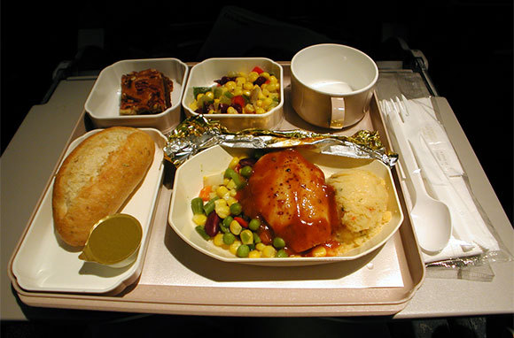 Airplane Food Tastes Bad
