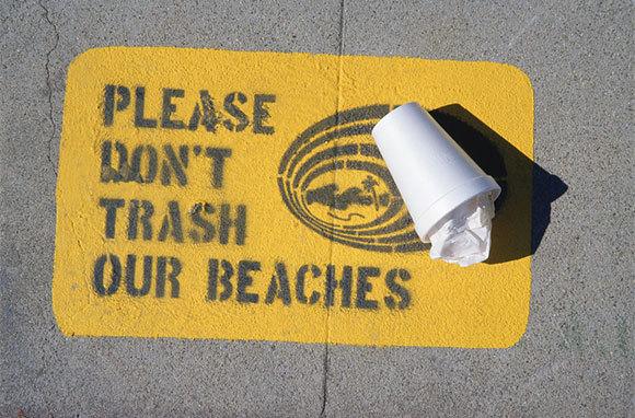 Don't Leave Behind Trash