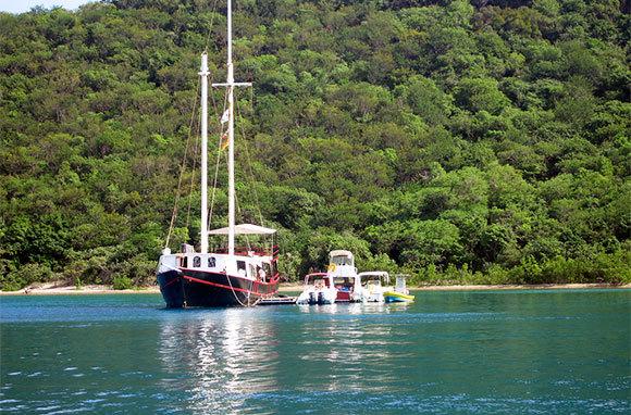 The William Thornton, Norman Island, British Virgin Islands