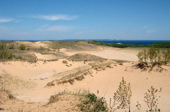 The Manitou Islands' Beaches, Michigan