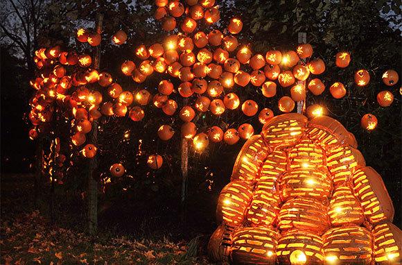 The Great Jack O'Lantern Blaze, Croton-on-Hudson, New York